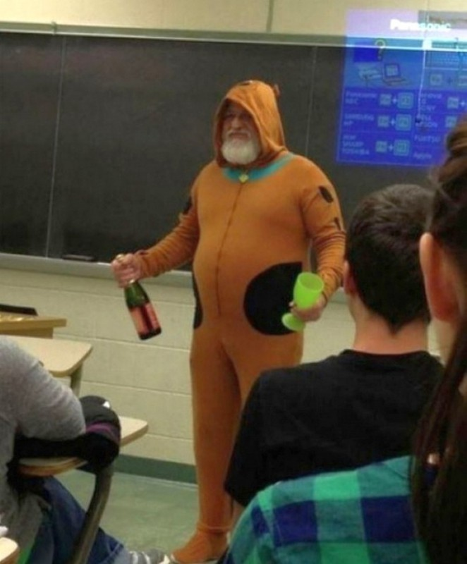 Когда учителя действительно круты (19 фото)