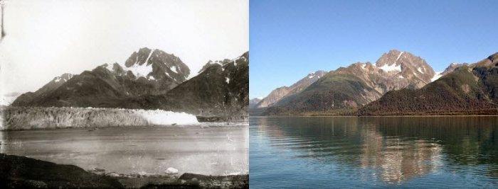Как быстро тают ледники (17 фото)