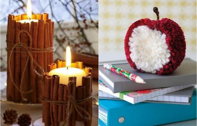 Декор, который сделает зимний интерьер чуточку теплее и ярче (18 фото)