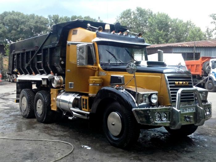 Тюнинг рабочего грузовика КрАЗ-256 (26 фото)