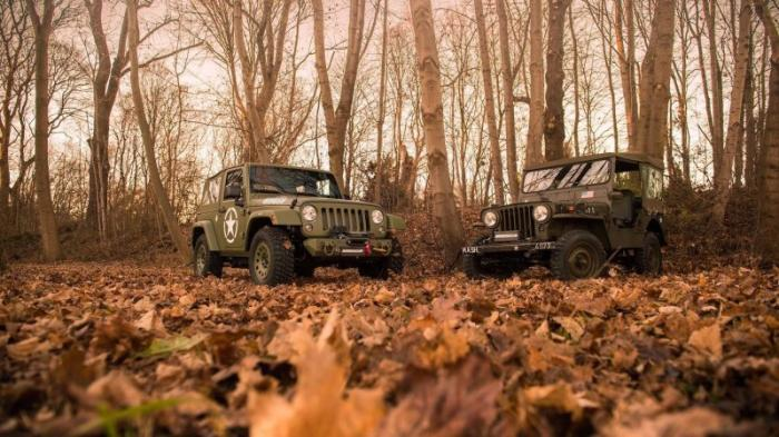 Jeep Wrangler: как Geiger Cars «возродил» дух Willys (17 фото)