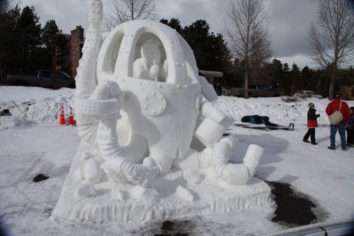 Международный чемпионат снежных скульптур (18 фото)