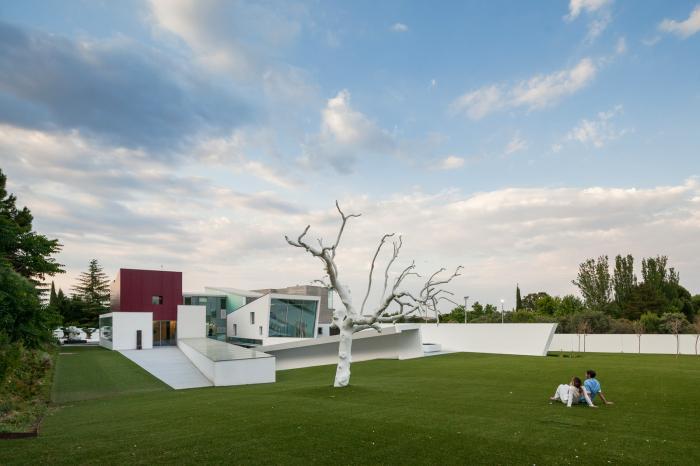 Дом известного спортсмена в Мадриде (26 фото)