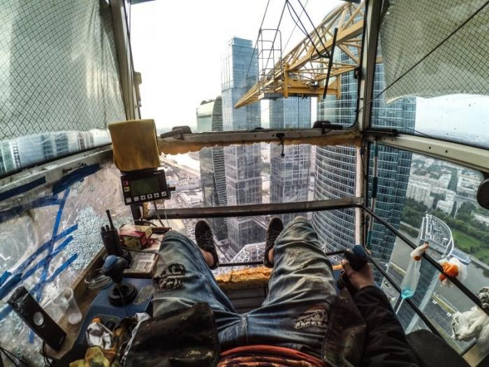 Что видят с рабочего места люди разных профессий (10 фото)