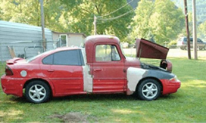 Что бывает, когда самостоятельно ремонтируешь машину (30 фото)