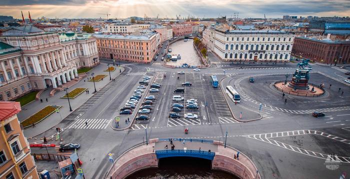 Самые живописные мосты Петербурга (10 фото)