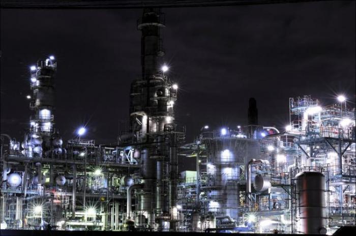 Заводы Японии (34 фото)