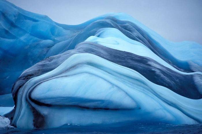 Удивительные айсберги (37 фото)