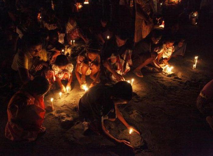 Рыболовные традиции в Индонезии (20 фото)