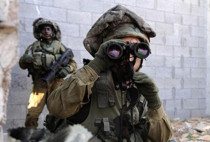 Назначение мешка на голове израильских военных