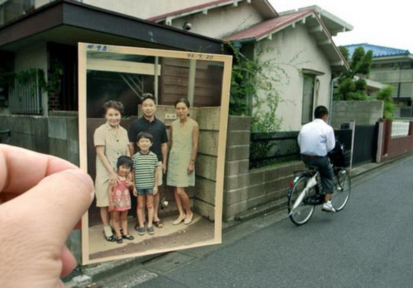 """""""Прошлое в настоящем."""" Проект Dear Photography (8 фото)"""