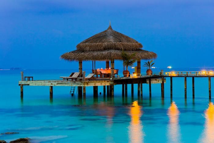 Без фотошопа: что можно увидеть на Мальдивах (9 фото)