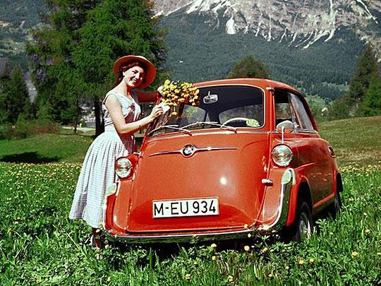 Ретро-реклама автомобилей (14 фото)
