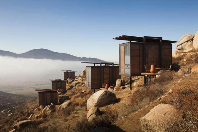Экологический отель в Мексике (18 фото)
