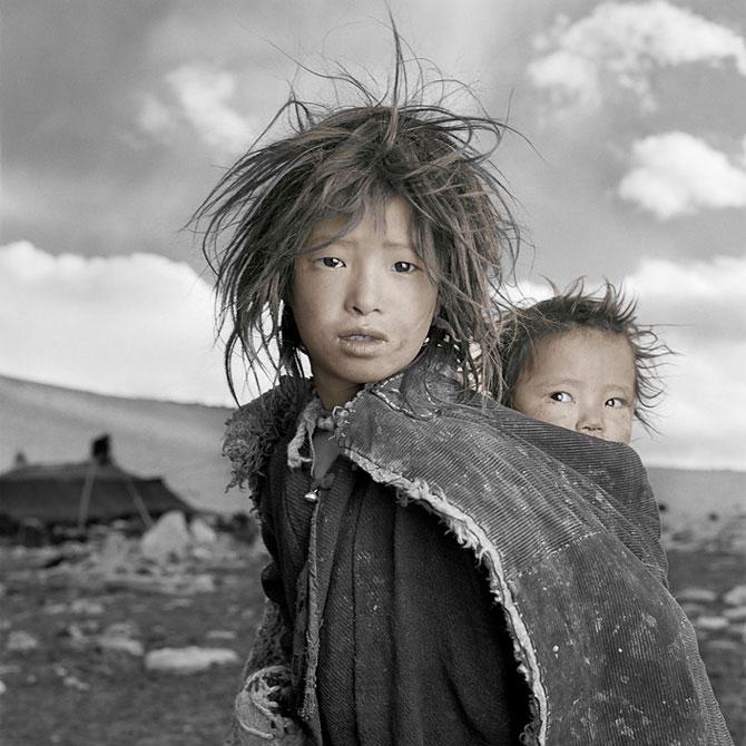 Жители Тибета (11 фото)