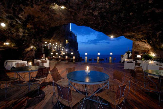 Ресторан в скале (9 фото)