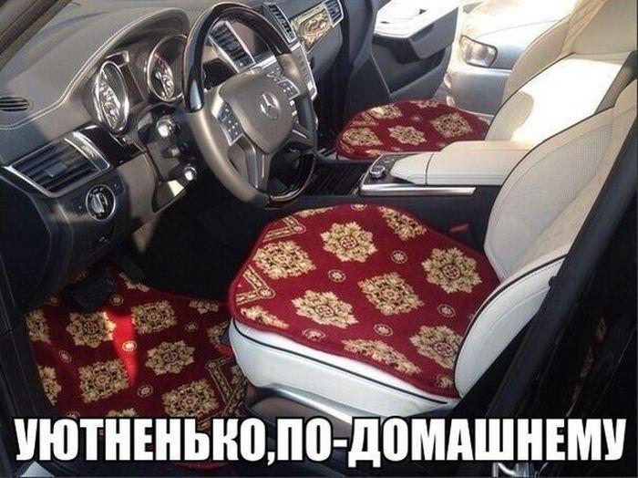 Юмор отечественных автомобилистов (38 фото)
