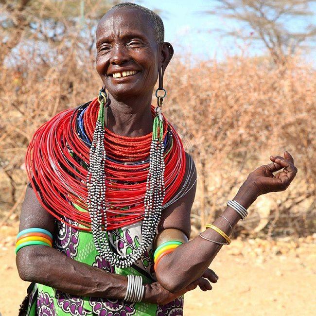 Деревня в Кении, где живут одни женщины (15 фото)