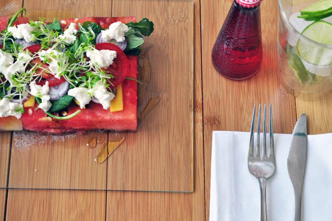 Салат из арбуза  (16 фото)