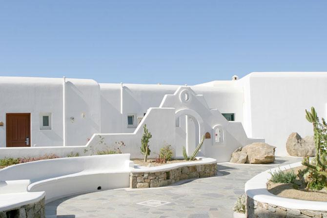 Отель Mykonos Grand в Греции для любителей роскоши  (29 фото)