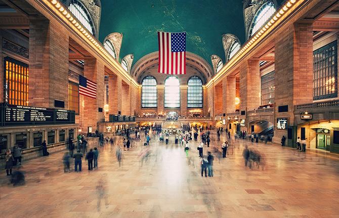 Центральный вокзал Нью-Йорка (31 фото)