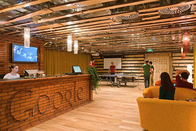 Офис Google в Москве (47 фото)