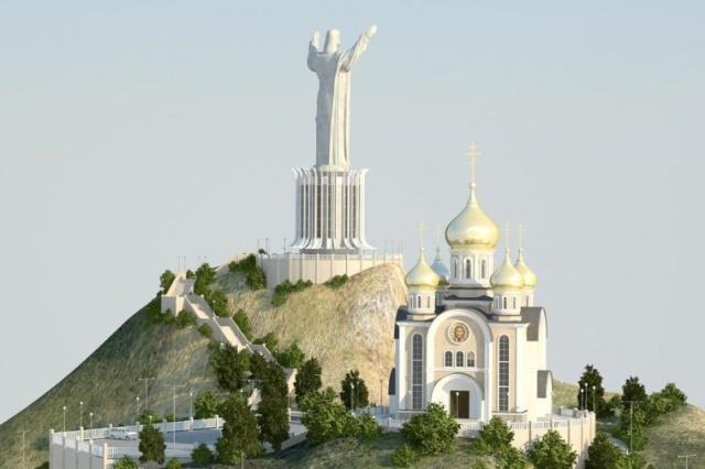 Во Владивостоке может появиться 68-метровая статуя Иисуса (5 фото)