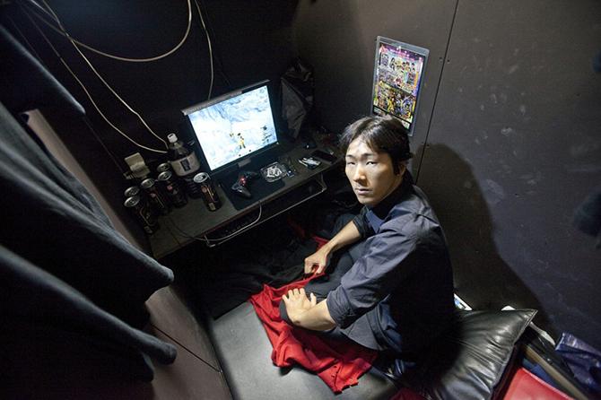 Как живут японские «интернет-беженцы» (9 фото)