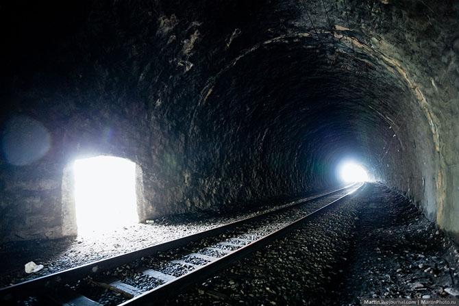 Кругобайкальская железная дорога (54 фото)