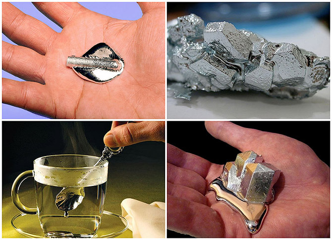 Галлий – редкий металл, который тает в руках (8 фото)