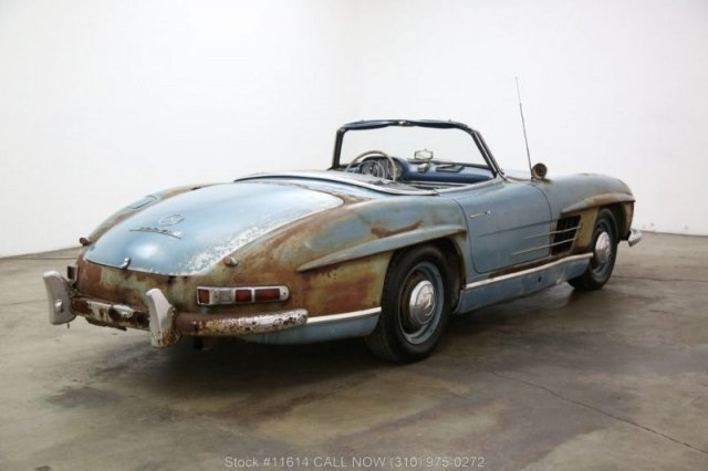 Ржавый Mercedes-Benz 300SL был продан за баснословные деньги (24 фото)