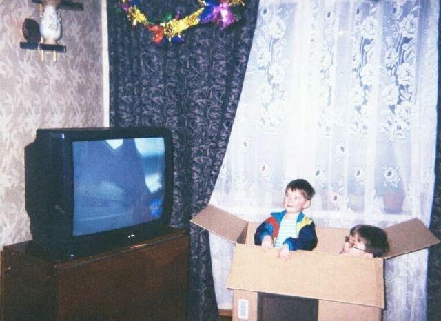 Атмосферные снимки из 90-х (14 фото)